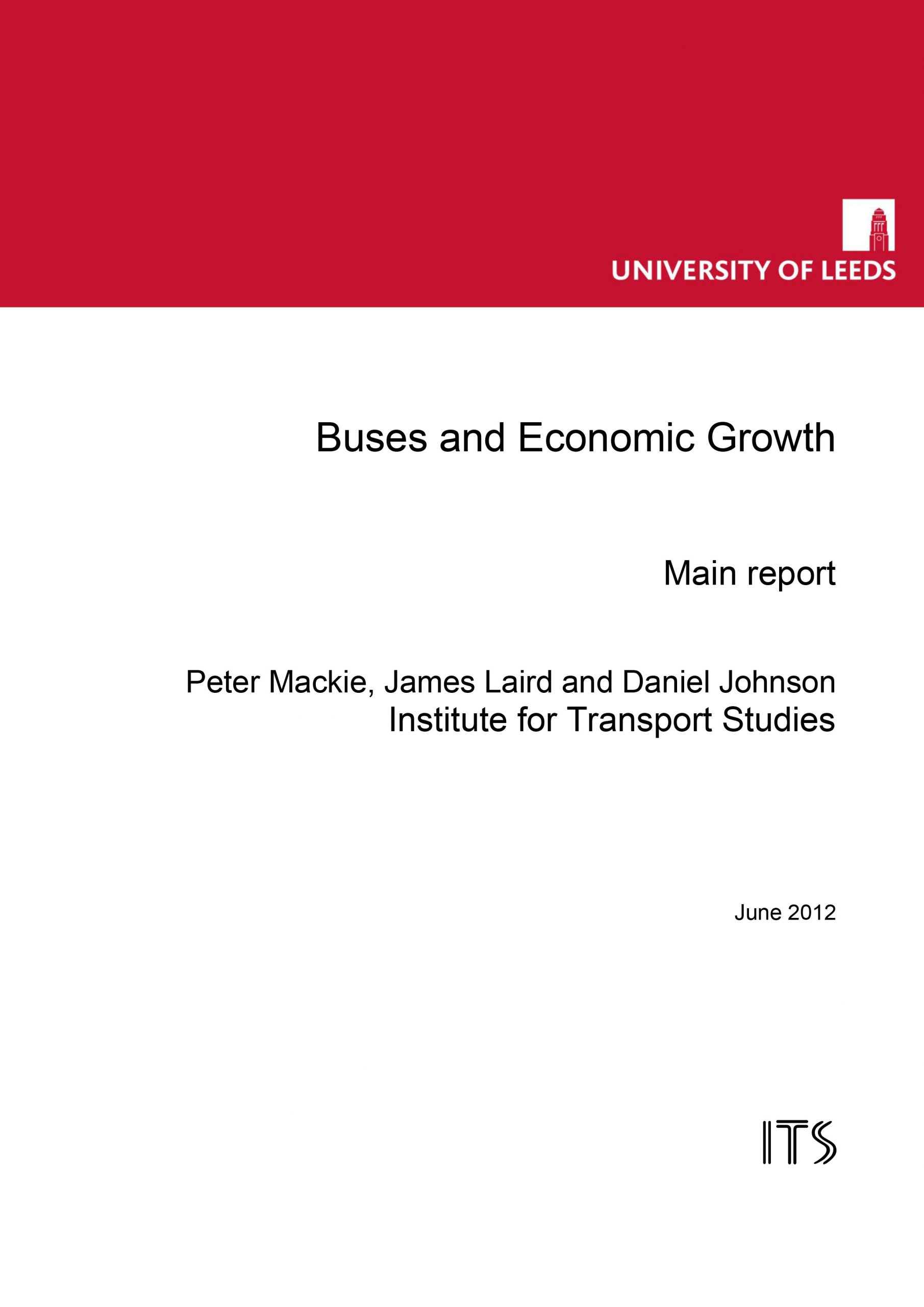 Buses and Economic Growth