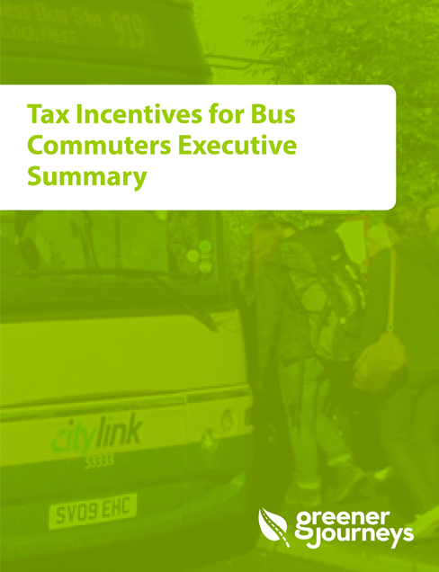 Tax incentives for bus commuters
