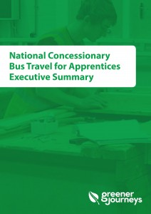 National Concessionary Bus Travel for Apprentices Executive Summary
