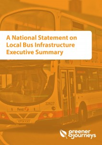 National statement on local bus infrastructure
