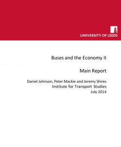 Buses and the Economy II