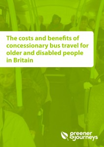 Costs and benefits of concessionary bus travel for older and disabled people in Britain