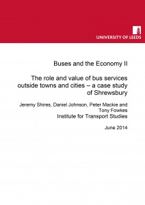 Buses and the Economy II: Task 6 Report