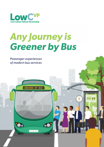Any Journey is Greener By Bus