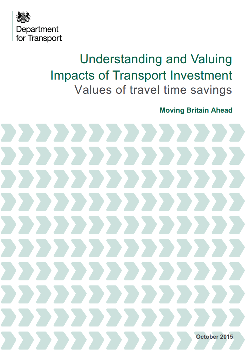 Understanding and valuing impacts of transport investment