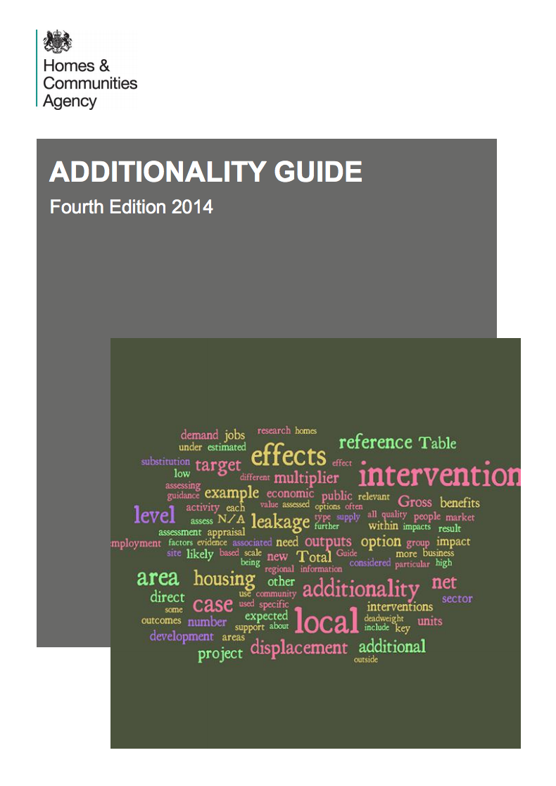 Homes and Communities Agency – Additionality guide