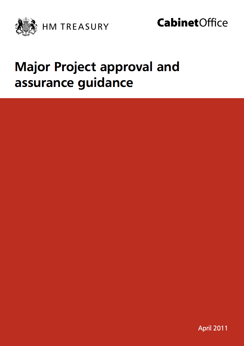 Major Project Approval and Assurance Guidance