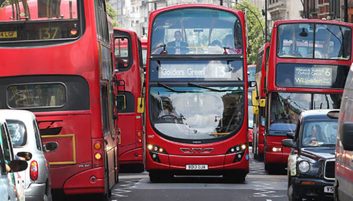 Replacing diesel buses key to cutting London air pollution, claim experts