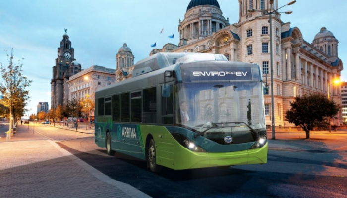 Low Emission Bus Investment in Liverpool City Region