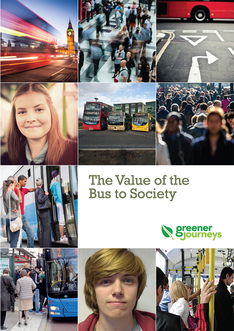 Greener Journeys, Value of the Bus to Society