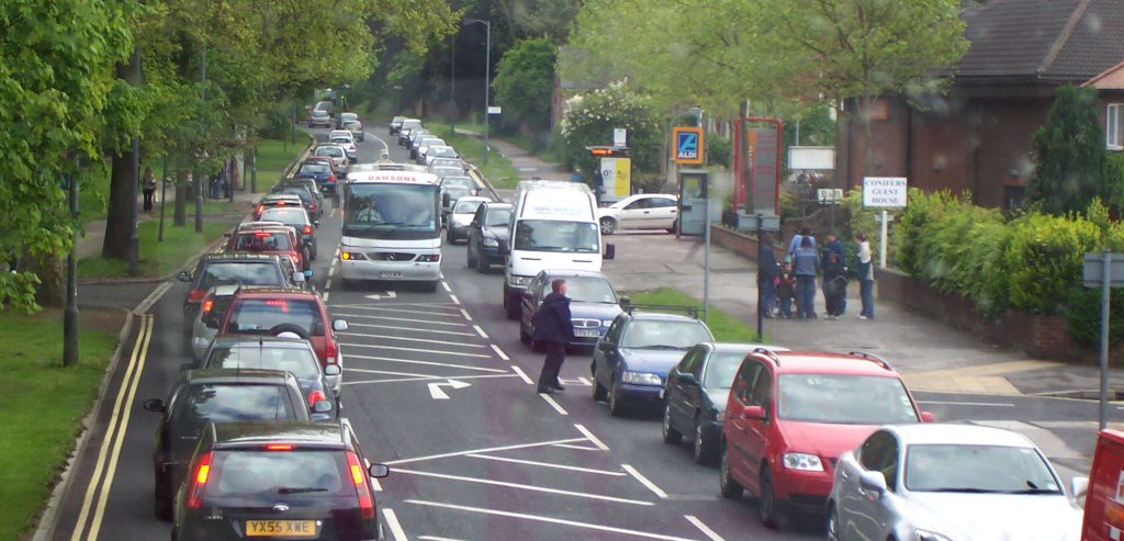 Congestion on Englands roads