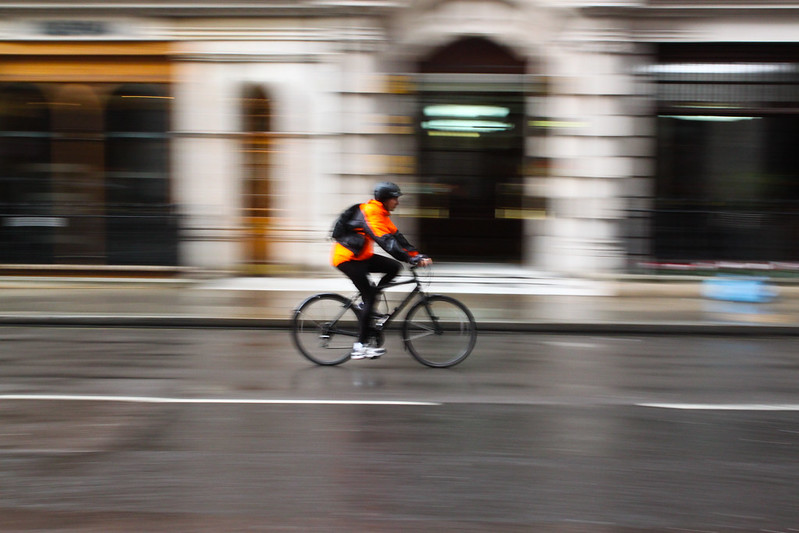 Cycling London: Photo by Geraint Rowland